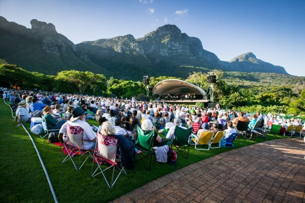 summer concert at kirstenbosch gardens